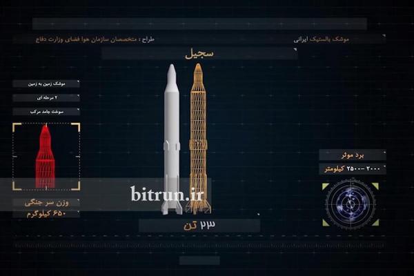 موشک های ایرانی چگونه اند؛ اطلاعات فنی فاتح 110،قیام،عماد و شهاب