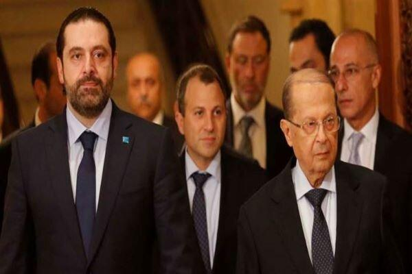 تکیه حریری بر حمایت خارجی در تشکیل کابینه